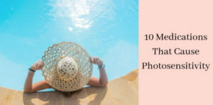 Medications That Cause Photosensitivity - Woman At Pool