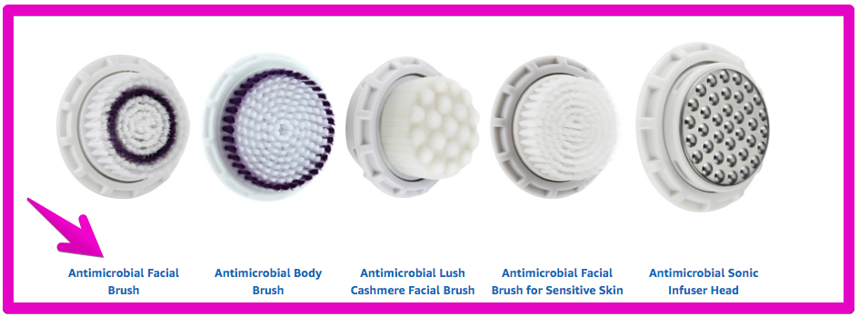 Sonic Facial Cleansing Brush - Brush Heads