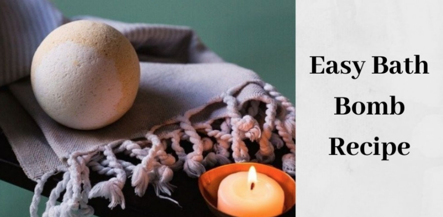 Easy Bath Bomb Recipes - Bath Bombs By Candle