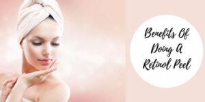 Retinol Chemical Peel - Woman With Towel On Head