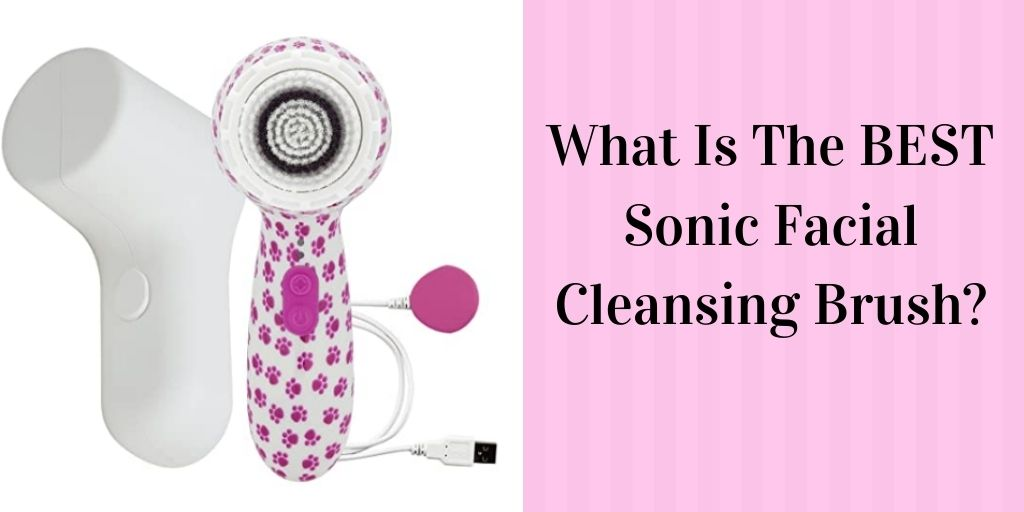 BEST Sonic Facial Cleansing Brush - Pink Sonic Facial Brush