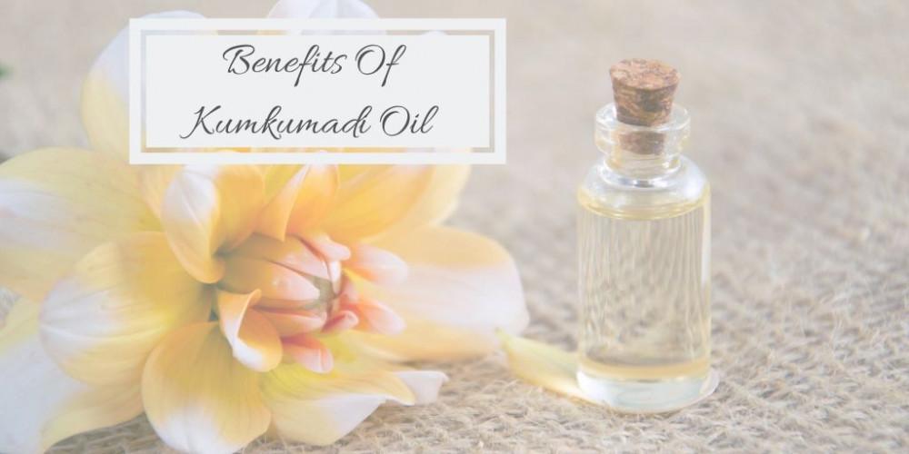 Benefits Of Kumkumadi Oil - Flower And Oil