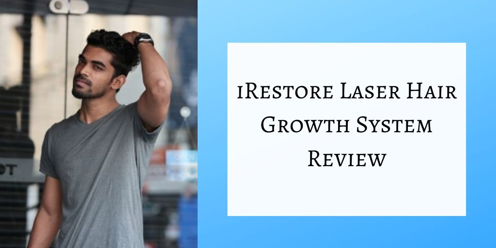 iRestore Laser Hair Growth System - Beautiful Man